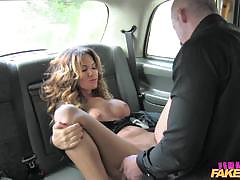 blowjob, big tits, cumshot, british, milf, big boobs, amateur, taxi, reality, orgasms, oral sex