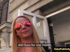 Pickedup euro babe fucks at casting
