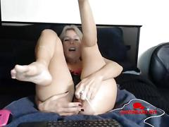 Mature granny double penetration