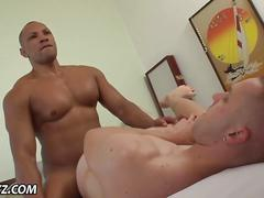 Raw amateur cum covered blowjob