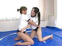 fetish, japanese, zenra, teasing, teenager, young, wrestling, subtitled, oiled, slime, natural-tits, big-butt, babes, kink