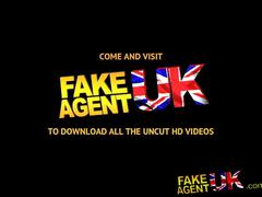 Fakeagentuk tight british pussy fucked over desk