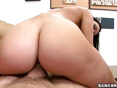 Rachel starr and her friend riding a big dick