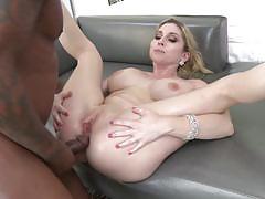 Big black cock slides into christie stevens