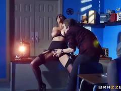 Brazzers - (romi rain) - big tits at school