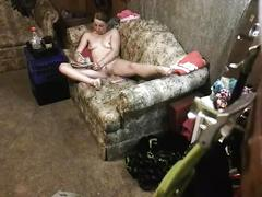 Stepdaugther caught on spycam masterbating