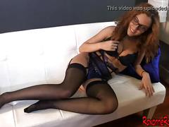 Tristan sweet worships roxanne raes nylon feet