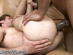Bum fucking the dude with his big fat black pecker
