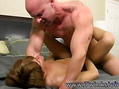 Jerking the cock and the session gets him belling