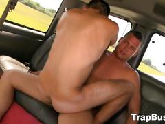 Gay rides straight hunk