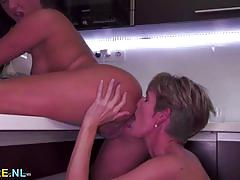 lesbian, mature, pussy licking, amateur, oral sex