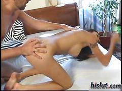 This slut got banged anal clip 1