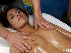 Girl fucked after massage blowjob clip 1