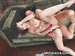Seductive babe katsuni gets her pussy slammed