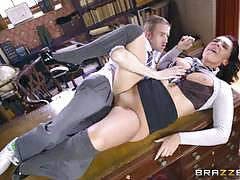 Monster cock fucking for sexy student emma leigh