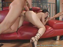 Seductive milf gets her pussy drilled