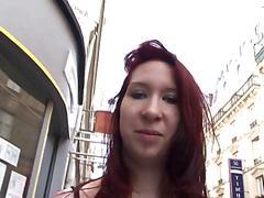 Redhead zoe gangbanged in a sexshop