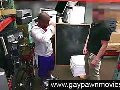 Interracial blowjobs from black for gay for cash