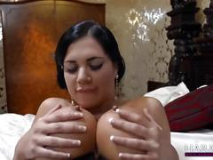 big tits, brunette, toys, lesbian, harmonyvision, girl-on-girl, big-boobs, adult-toys, maid, uniform, fake-tits, huge-tits, rimjob, clit-rubbing, orgasm, dildo, pussy-eating