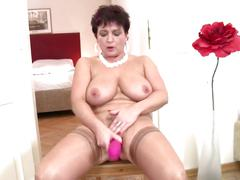 Perfect mature slut mother with wet pussies