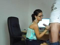 Delicious german brunette secretary fucked sugarteencams.com