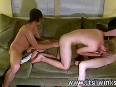 Threesome fucking and some cock sucking