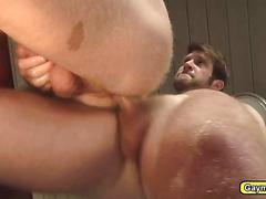 Bennetts asshole is getting a hard fuck