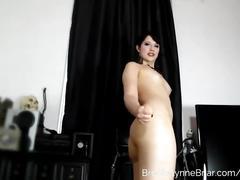 brunette, toys, striptease, brookelynnebriar, teasing, anal-plug, ass-toy, butt-plug, jerk-off-instruction, brookelynne-briar, uniform, schoolgirl, stripping, goth