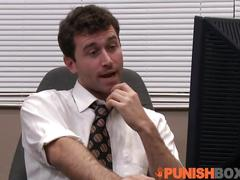 Punishbox - skin diamond gets punished at the office