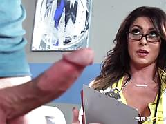 Patient cock creaming from sexy doc jessica jaymes