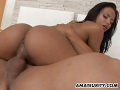 Sensual latina gets her pussy nailed