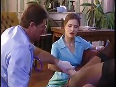 Black patient gets drilled hard