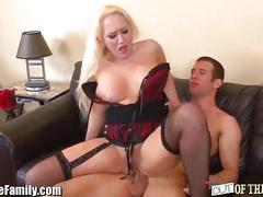 Mom caught ass-fucking her son in law