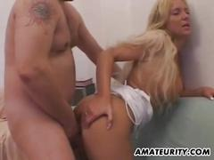 Amateur mom with big tits homemade action