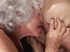 Amateur 3 old sluts gets one hard cock