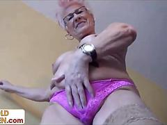 Kinky 79 year old grandma