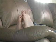 Twinkle toes foot tease