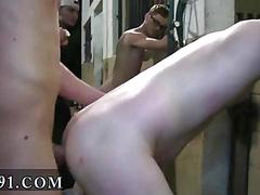 Sucking on a cock and the ass gets hammered