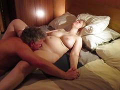 Blonde big tits russian milf tania getting pussy eaten