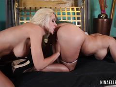 Pornstarplatinum - nina elle and claudia valentine
