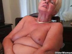 British milfs amy and sandie fulfill their honey pot's cravings
