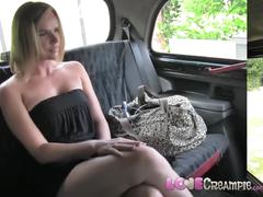 Love creampie big tits milf gets slammed as punishment for pissing in taxi