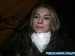 blonde, public, reality, pov, exclusive, publicagent, outside, cumshot, amateur, sex-for-cash, european, cock-sucking, big-cock, doggy-style, riding