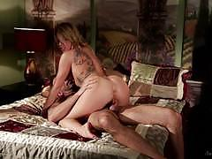 Cowgirl riding blonde zoey monroe