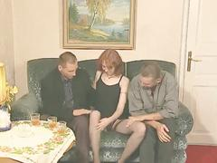 facials, old young, redheads, stockings, threesomes