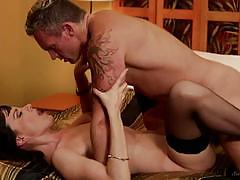 Cock hungry dana dearmond gets marcus london deep inside her