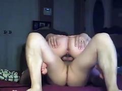 Cheating wife furiously fucks on hidden cam