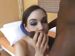 Sasha grey and black cock
