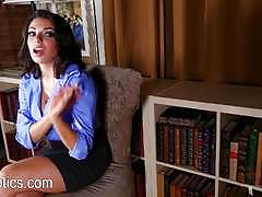 darcie dolce, hot, babe, sexy, latina, dirty talk, interview, stripping