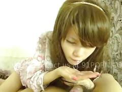 asian, amateur, brunette, chinese, phone, cock-sucking, oral, blowjob, teen, young, close-up, doggy-style, raw, hardcore, cumshot, cum-in-mouth